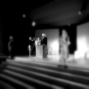 Theater Belp Rehearsing Romeo und Julia auf dem Dorfe