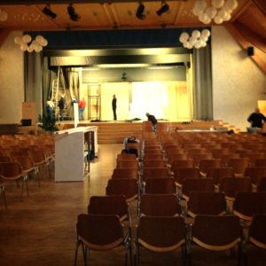Theater Belp - Preparing The Stage