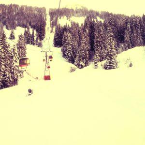 Snowboarding @ Saanenmöser