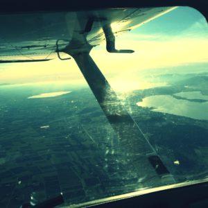 Flight over Switzerland Trois Lacs