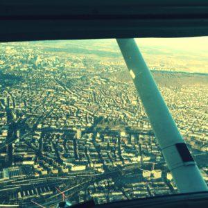 Flight over Switzerland Zurich