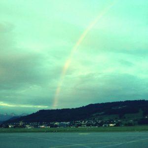 Rainbow without Rain