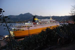 Sardinia Regina @ Calvi (Corsica Ferries)