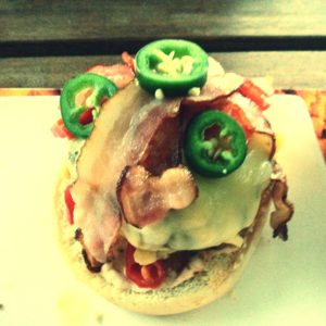 LunchTime! Selfmade Burger