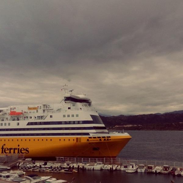 Mega Andrea @ Ile Rousse (Corsica Ferries)