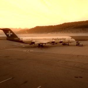 Helvetic Airways @ Flughafen Bern BRN