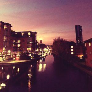 Sunset @ Birmingham Canal Old Line