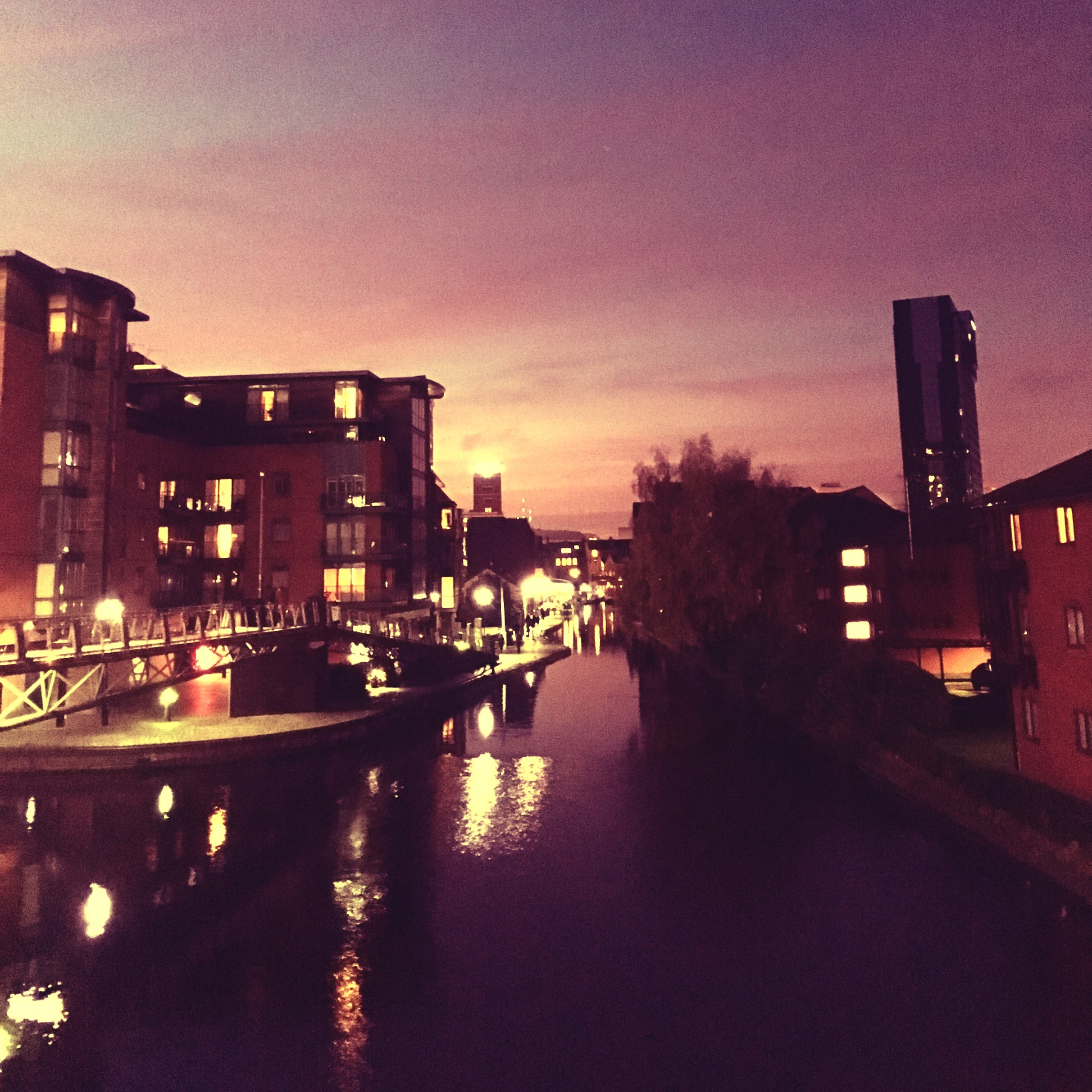 Sunset @ Birmingham Canal Old Line