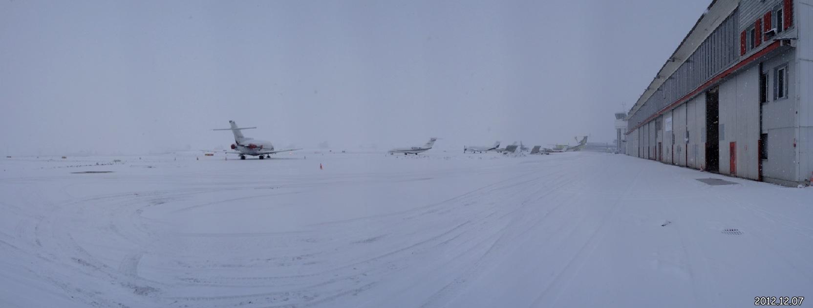Flughafen Bern BRN - Star Wars Planet Hoth