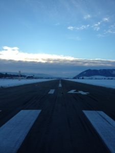 Flughafen Bern BRN Runway 14