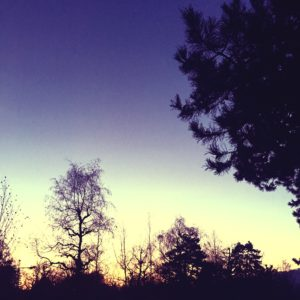 Sunrise @ Krematorium Bern