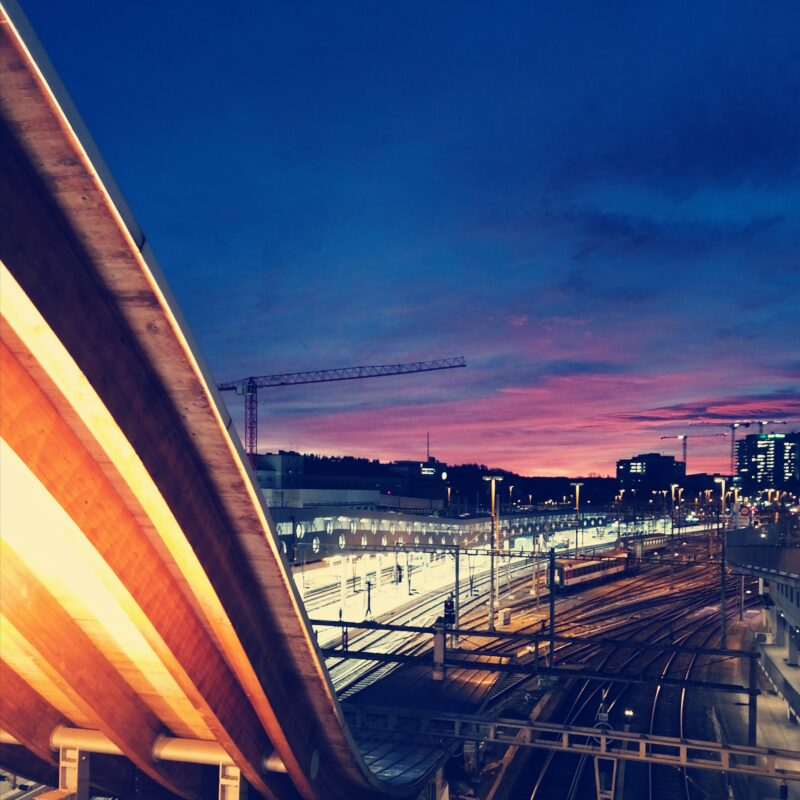 02.22.20 Coucher du soleil à Berne