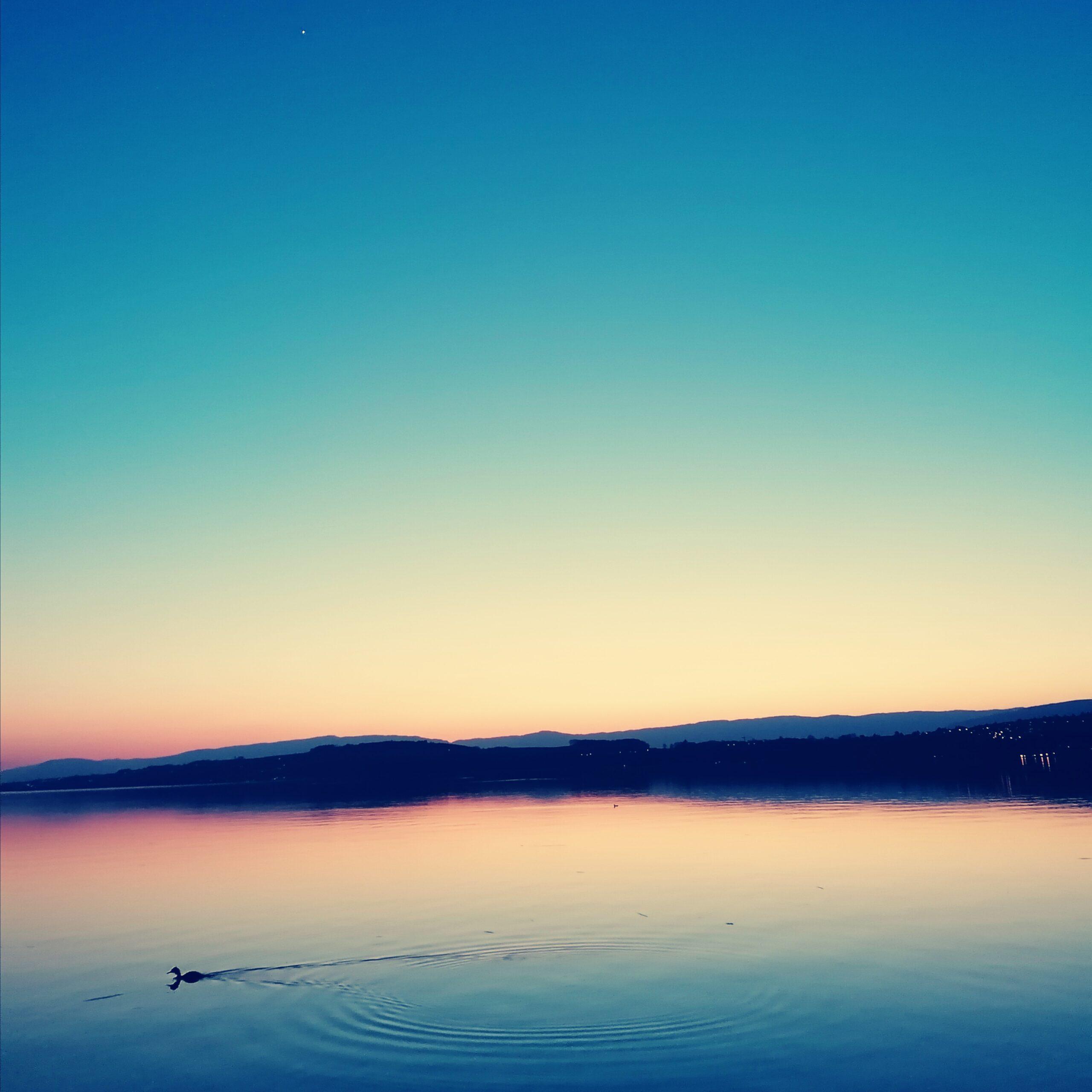 Coucher du Soleil @ Lac de Morat